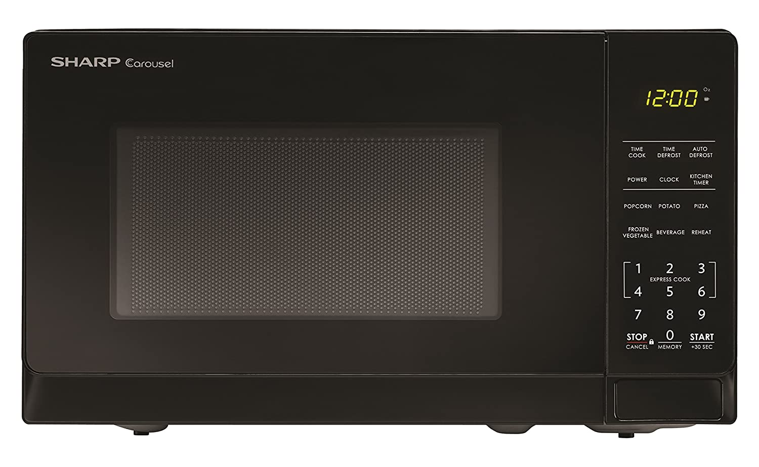 Sharp Microwaves ZSMC0710BB Sharp 700W Countertop Microwave Oven, 0.7 Cubic Foot, Black