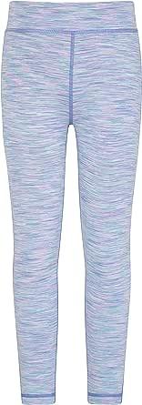 Mountain Warehouse Cosmo Polainas de Las Muchachas de Cosmo - Wicking rápido Embroma los Pantalones del Verano, Pantalones de los niños Suaves estupendos