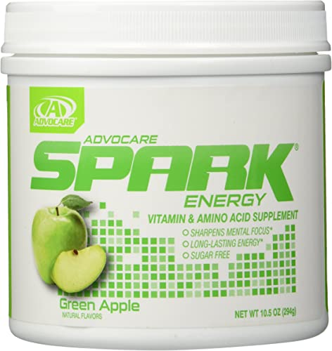 Advocare Spark Green Apple 10.5oz Canister