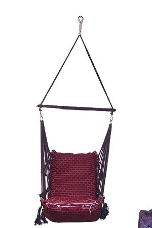Porwal Swing Chair (Red)