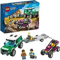 LEGO City Yarış Arabası Taşıma Aracı 60288 - Çocuklar için Oyuncak Yapım Seti(210 Parça)