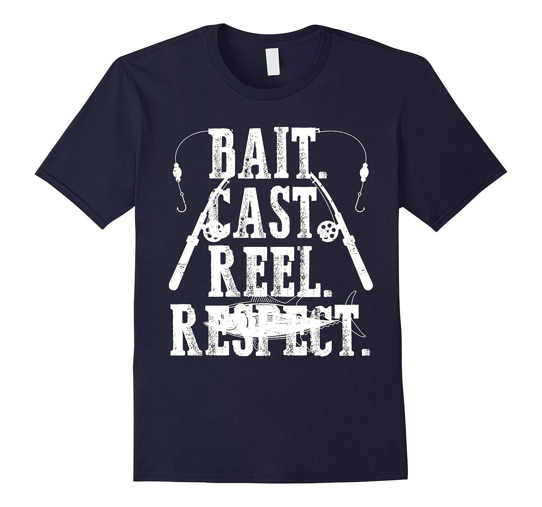 Bait Cast Reel Repeat Fishing T-Shirt-CD