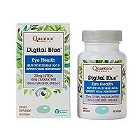 Quantum Health Digital Blue Softgels, Eye Supplement, Blue Light - Lutein, Zeaxanthin...