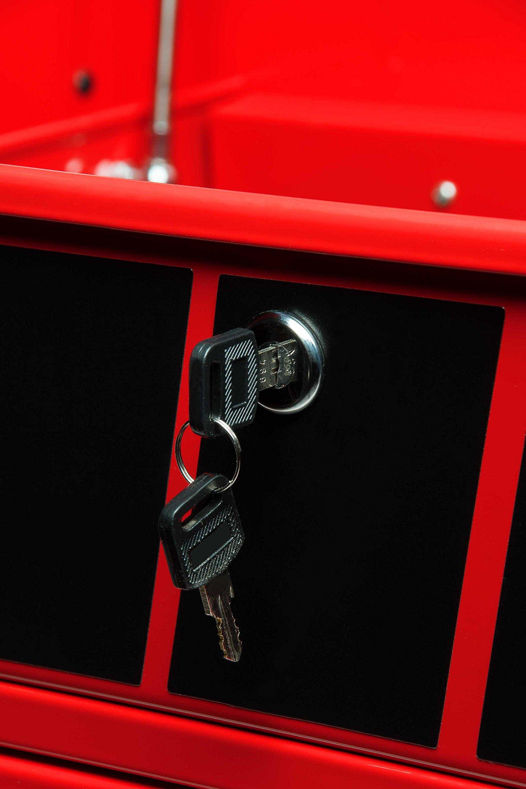 Sunex 8057 Premium Full Drawer Service Red Cart by Sunex Tools (Image #6)
