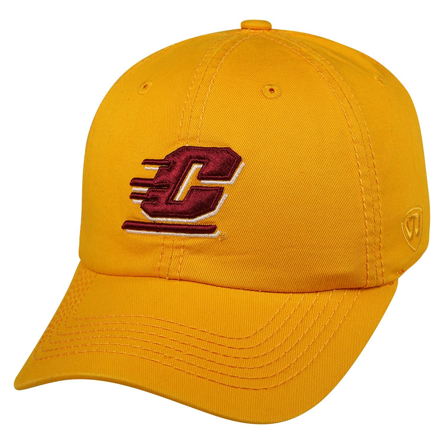 dc04498596ec7 Amazon.com  Top of the World NCAA Central Michigan Chippewas Relaxed Fit Adjustable  Hat