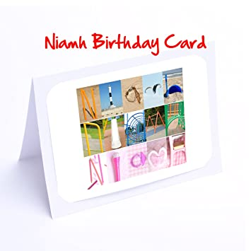 Personalised name gifts for kids niamh 7x5 photo print amazon personalised name gifts for kids niamh 7x5 photo print negle Choice Image