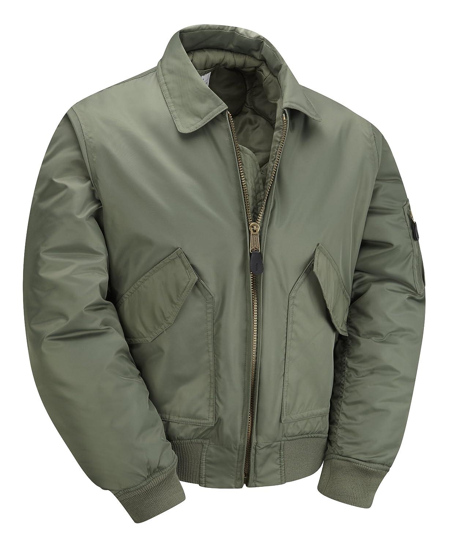 MA2 CWU Bomber Flight Jacket - Olive: Amazon.co.uk: Clothing