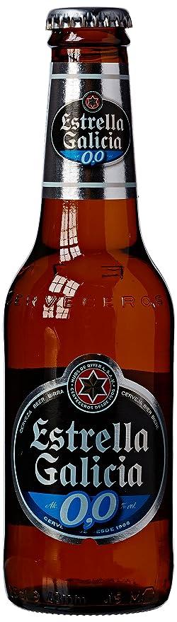 Hijos De Rivera Estrella Galicia Zero Alcohol Beer, 6 x 250 ml:  Amazon.co.uk: Grocery
