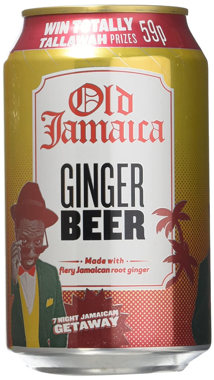 Old Jamaica Ginger Beer 330ml (24 Pack)