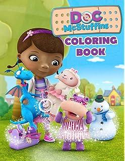 Amazon Com Doc Mcstuffins Big Fun Coloring Book Item May Vary