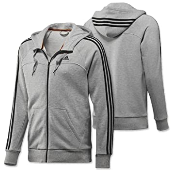 adidas Herren Trainingsjacke Essentials 3 Stripes Full Zip