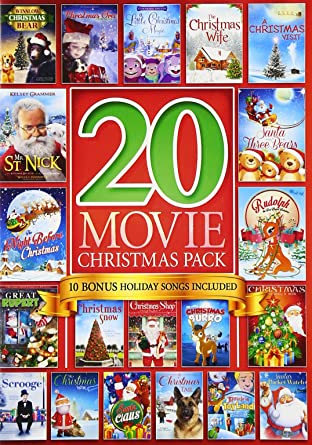 20 movie christmas pack - Amazon Christmas Movies