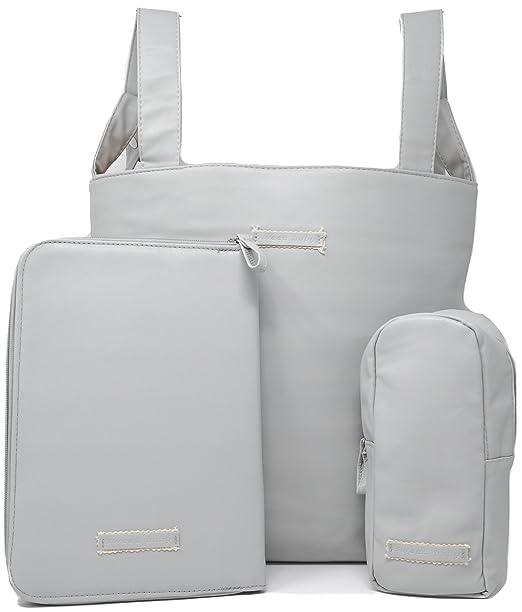 Bolso carro bebe, funda cartilla sanitaria bebe, guarda biberones, bolsos para carritos de bebe, bolsa panera. (Azul): Amazon.es: Bebé