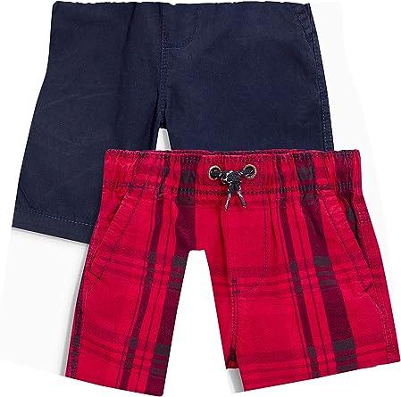 next Niños Pack De Dos Pantalones Cortos (3-16 Años) Corte Estándar Rojo/Azul Marino 16 años: Amazon.es: Ropa y accesorios