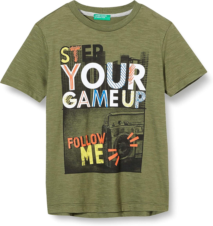 United Colors of Benetton T-Shirt Camiseta de Tirantes para Ni/ños
