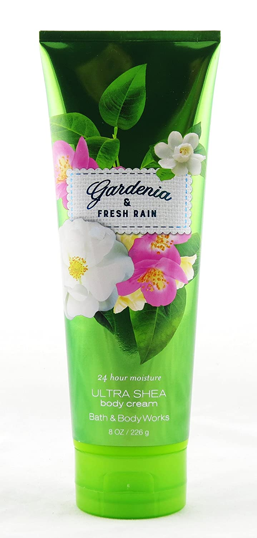 Bath & Body Works Ultra Shea Cream Gardenia & Fresh Rain
