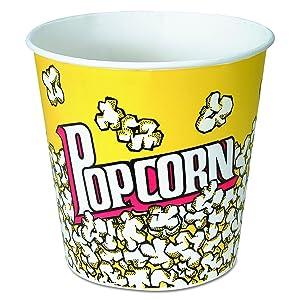 SOLO - SCCVP85 Solo VP85-00061 85 oz Popcorn Paper Bucket (Case of 150)
