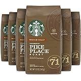Starbucks Medium Roast Ground Coffee — Pike Place Roast — 100% Arabica — 6 bags (12 oz. each)