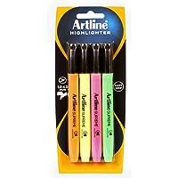 Artline 161074 Supreme Highlighter Assorted Pack 4