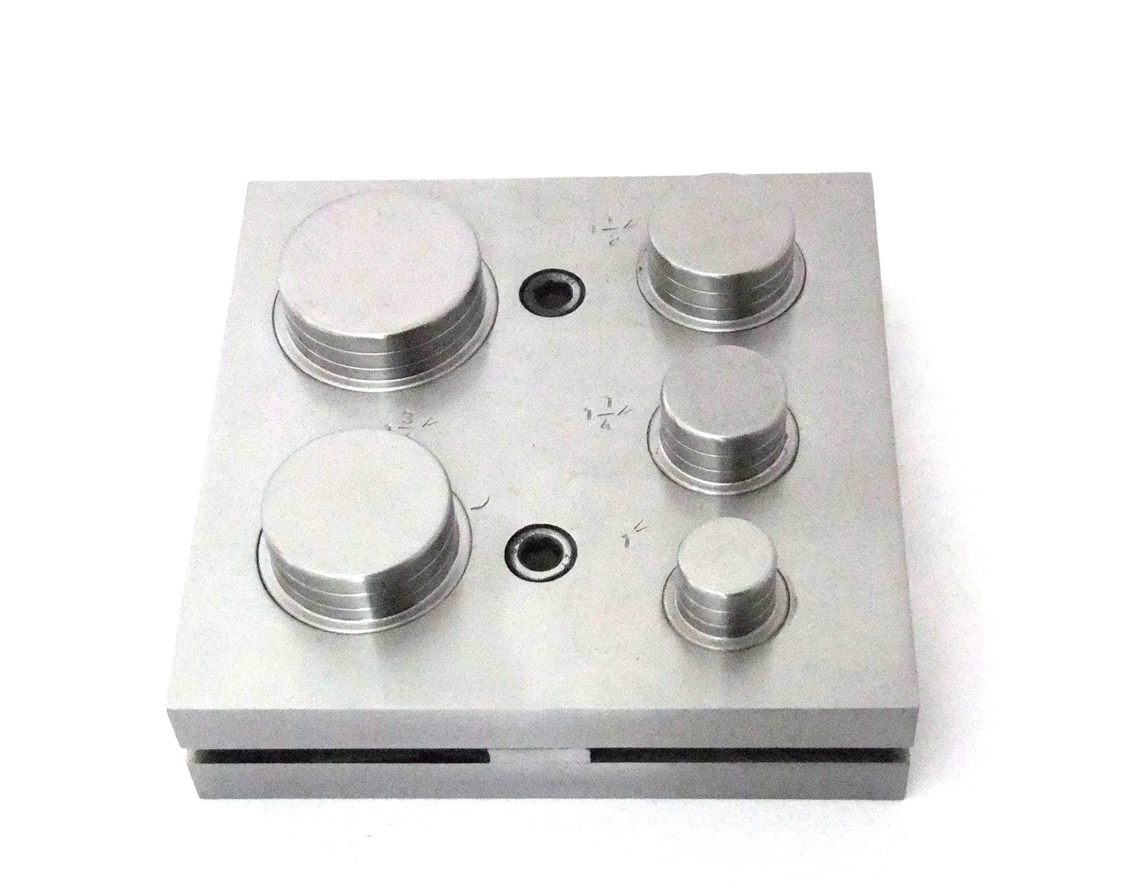 Premium Quality Large Disc Cutter 1 Thru 2 Inch Five Punches by TDs Online Store (Image #1)