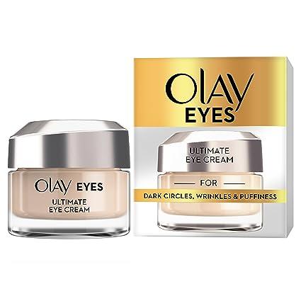 Olay ojos Ultimate Crema Ojos para Ojeras, Arrugas y hinchazón, 15 ml