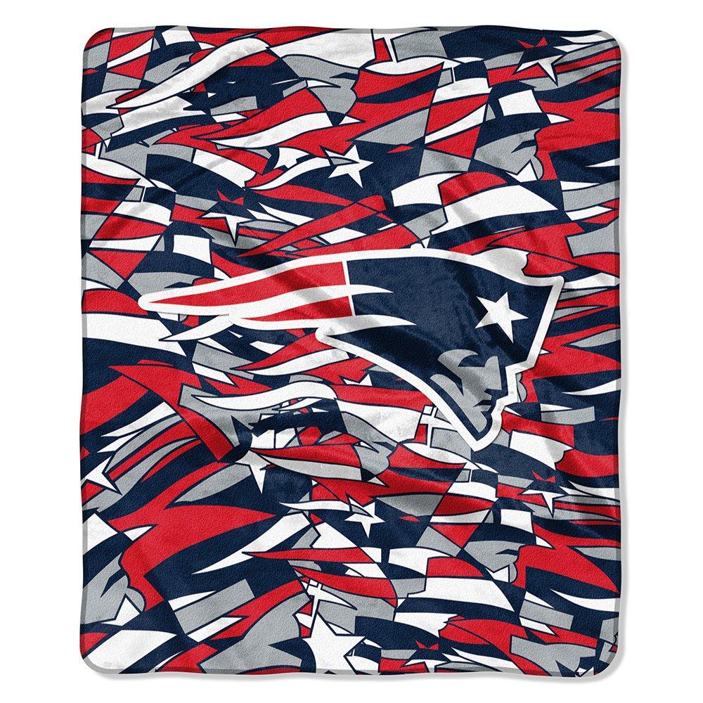 The Northwest会社New England Patriots NFL QuickSnap Raschel Blanket (すべてLeagueシリーズ) (50 x 60 )   B07DS3FPMD