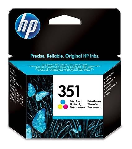 HP 351 - Cartucho de tinta Original HP 351 Tricolor para HP ...