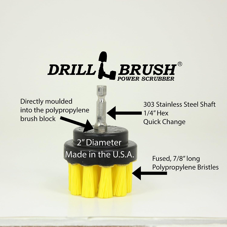 Amazoncom Household Power Scrubber Cordless Drill Battery - Battery powered scrub brush