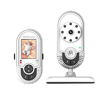 8448ffbb563 Amazon.com : Motorola MBP421 Video Baby Monitor with 1.8-Inch Color LCD  Screen and Infrared Night Vision (Discontinued by Manufacturer) : Baby