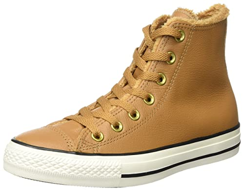 Converse Unisex Adults CTAS Chipmunk/Egret Hi Top Trainers Braun Chipmunk