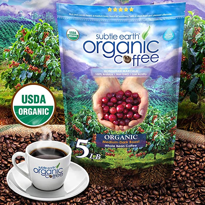 5LB Subtle Earth Organic Coffee