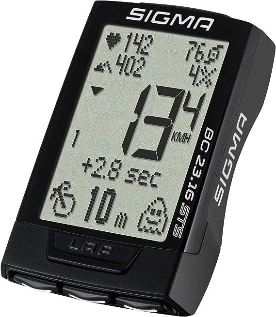 Ceinture de cardio Sigma type brustgurt avec émetteur pour compteur vélo VTT