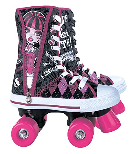 Monster High MO130350 - Patines de bota infantiles (talla 34)
