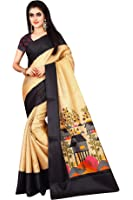 Saree(Nirmla Fashion Saree For Women Party Wear Half Sarees Offer Designer Below 500 Rupees Latest Design Under 300 Combo Khadi Cotton Silk New Collection 2017 In Latest With Designer Blouse Beautiful For Women Party Wear Sadi Offer Sarees Collection Kanchipuram Bollywood Bhagalpuri Printed Free Size Cotton Sari Mirror Work Marriage Wear Replica Sarees Wedding Casual Design With Blouse Material