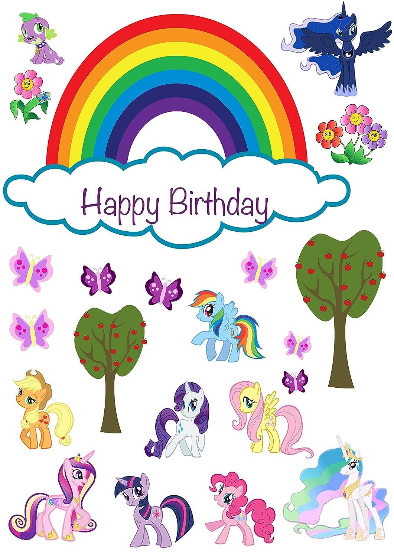 Happy Birthday Pony Cake