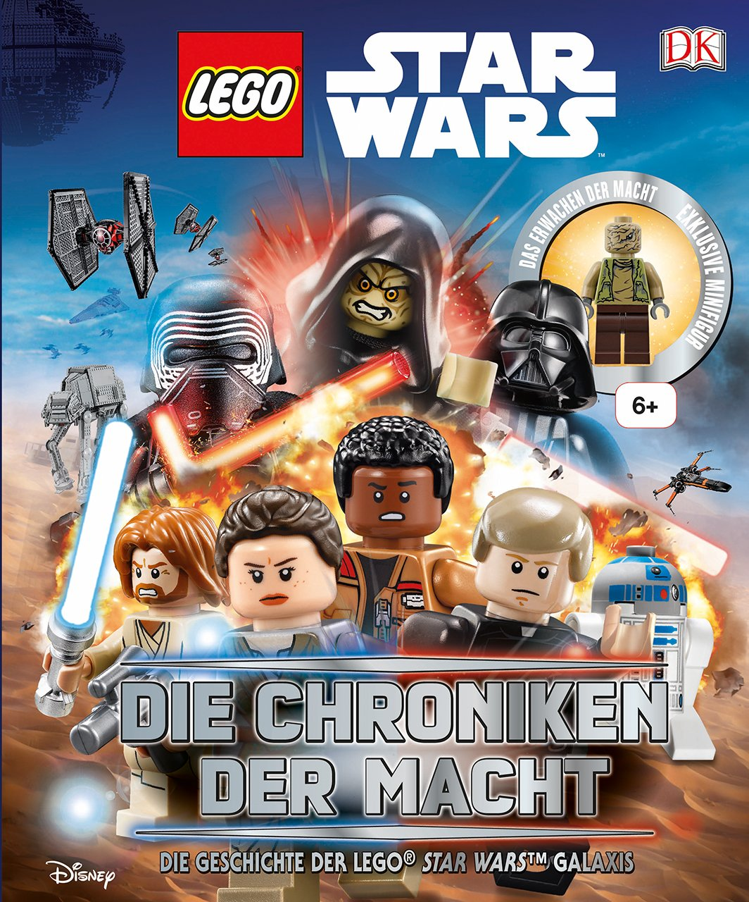 Fachbuch LEGO® Star Wars™ Lexikon der Minifiguren inklusive exklusiver Figur NEU