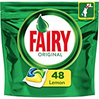 Fairy Original All In One Dishwasher Tablets Regular, 48 Pieces - Pack of 1