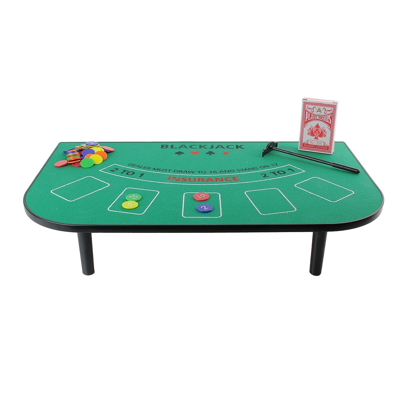Mister Gadget mg3080–Giochi da tavolo–Tavolo di Blackjack CMP Paris