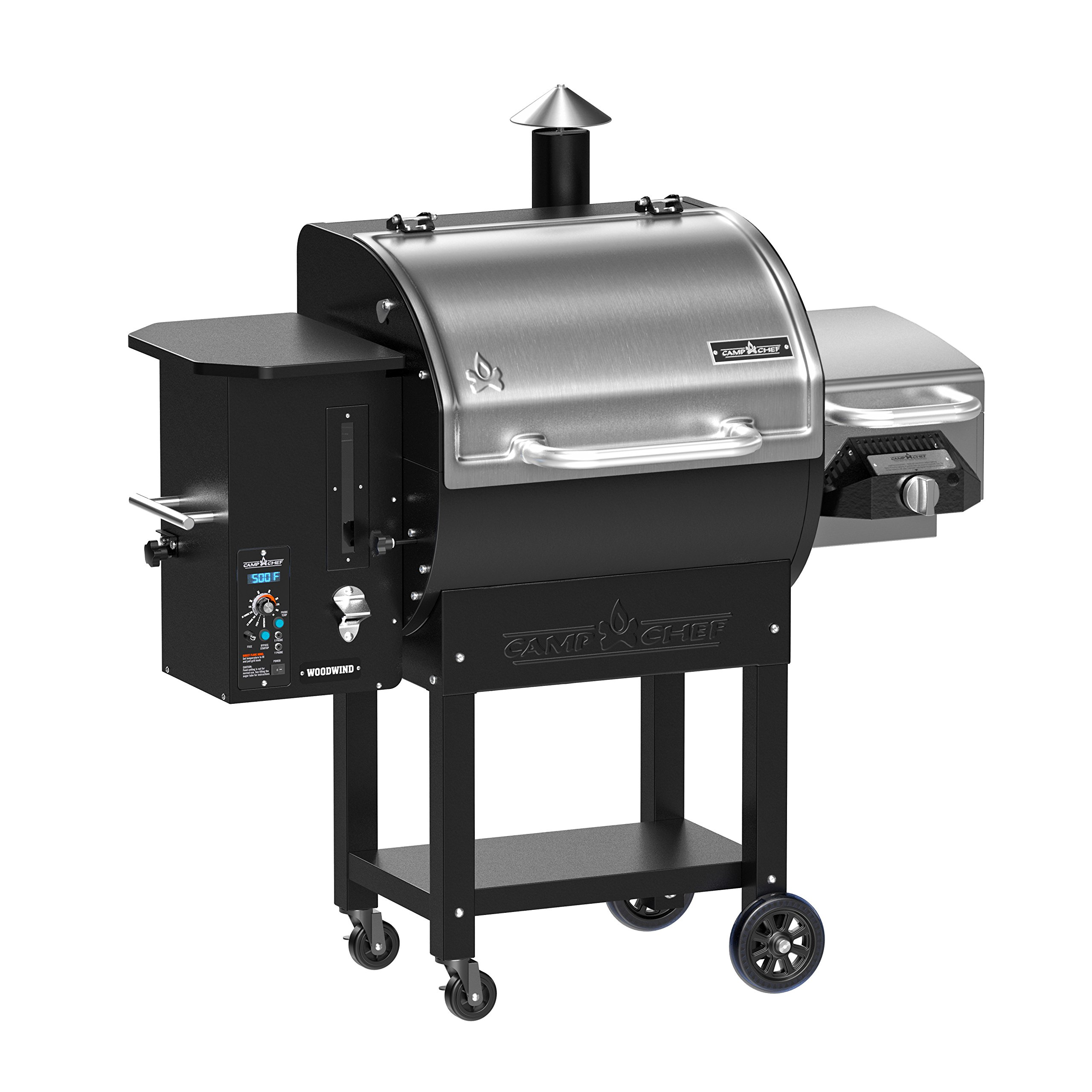 Camp Chef Woodwind Pellet Grill with Sear Box - Smart Smoke Technology - Ash Cleanout System (Woodwind SG) by Camp Chef (Image #2)
