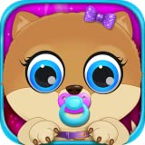 My Celebrity Newborn Pets - Baby & Mommy Dog Pregnancy Care Kids Games