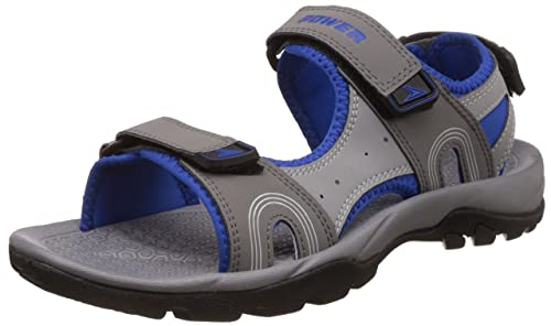 5a8d58eca2 Image Unavailable. Image not available for. Colour  Power Men s Acey Grey  Athletic and Outdoor Sandals - 10 UK India (44 EU