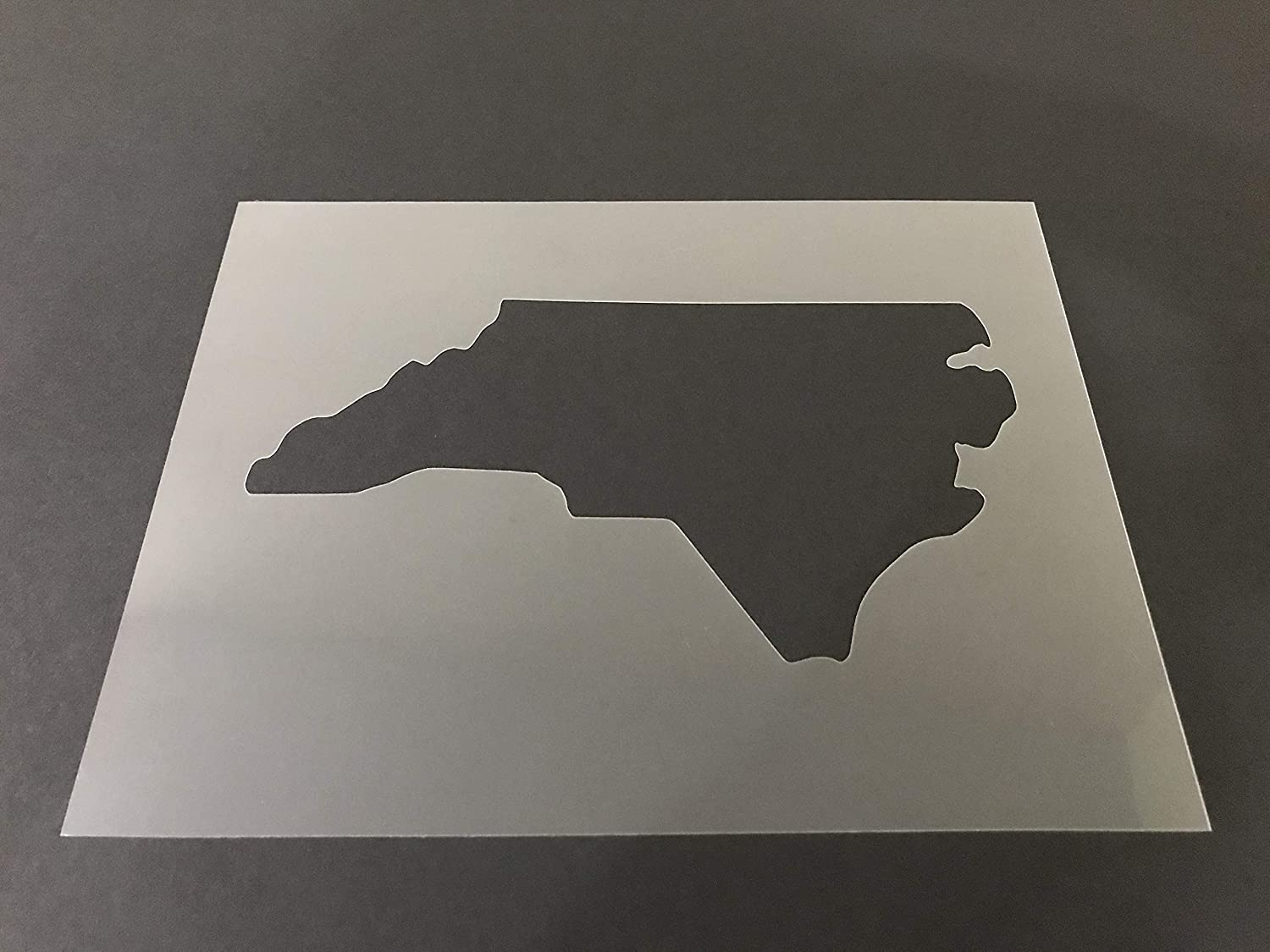 North Carolina #1 Stencil Reusable 10 mil Thick 8in x 10.5in sheet