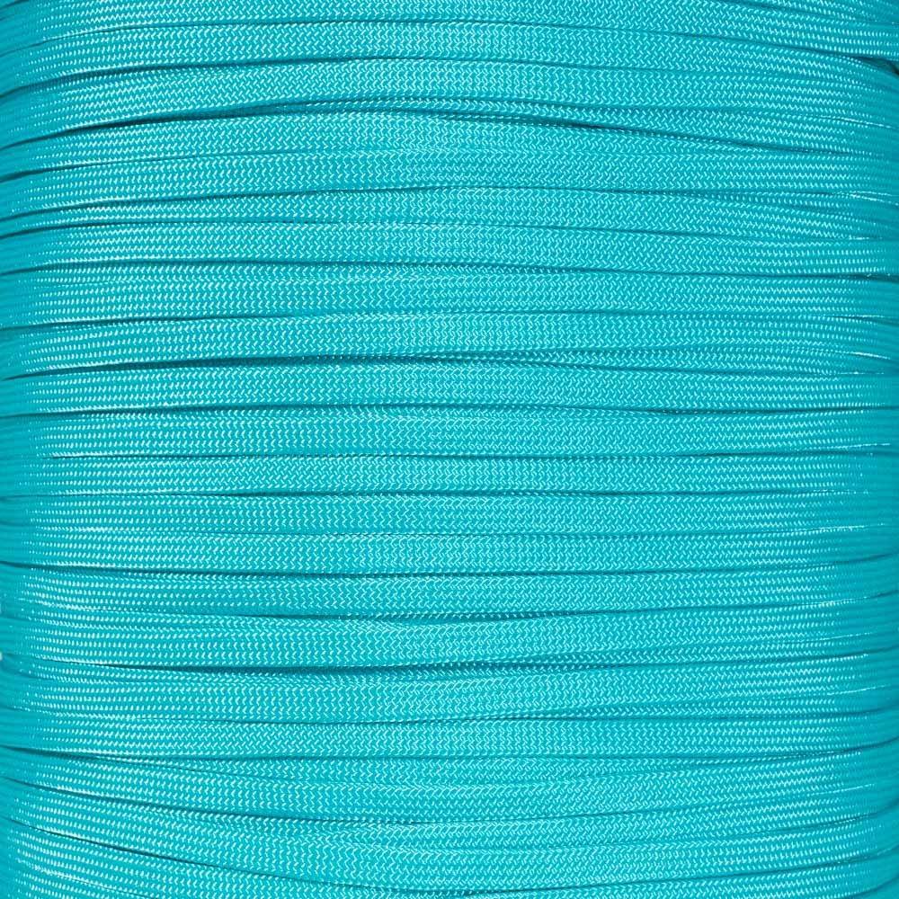 Turquoise PARACORD PLANET 650 sans Noyau Paracorde - Plusieurs Couleurs - Longueurs DE 10, 20, 25, 50, 100, 250, 300, 500 ou 1000 Pieds 10 Feet