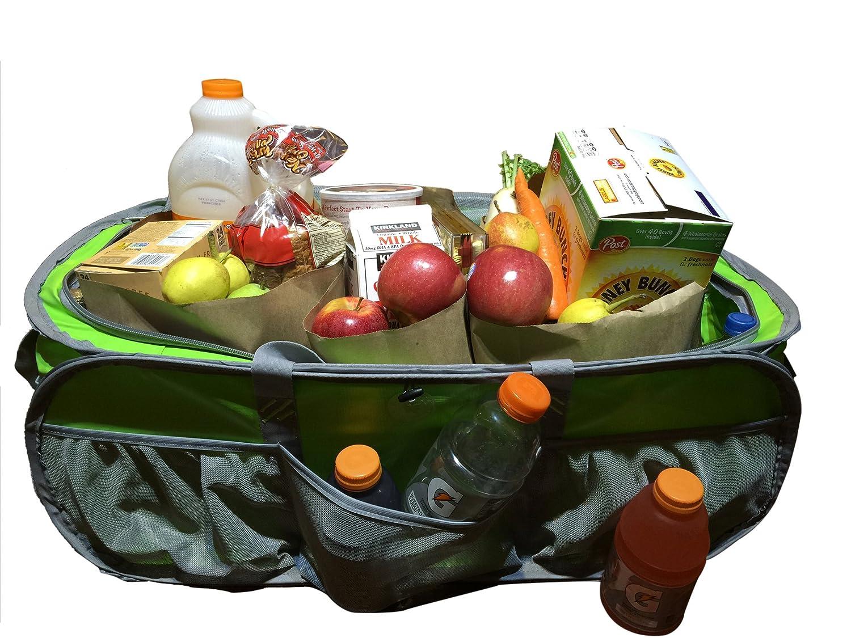 トランクオーガナイザーHeavy Duty Cargo Bag Large TarpaulinジムダッフルGreat品質クローゼットオーガナイザーバッグランドリーバッグ市場Groceryバッグビーチピクニック防水トートバッグフィットトラックSUV &車 36 inch グリーン RT102LIME-SIL B00NQIEJEG ライムグリーン/グレー ライムグリーン/グレー