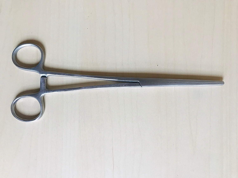 plata 125 mm Silverline 537877 F/órceps de Pesca de Acero Inoxidable