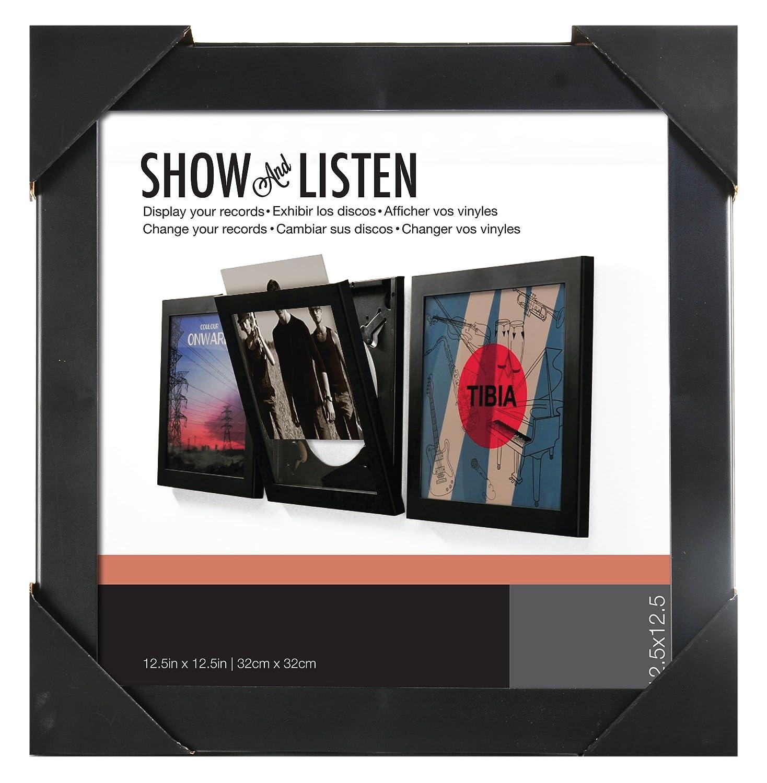 Easy Change Frame Show & Listen Schallplattenrahmen, single schwarz ...