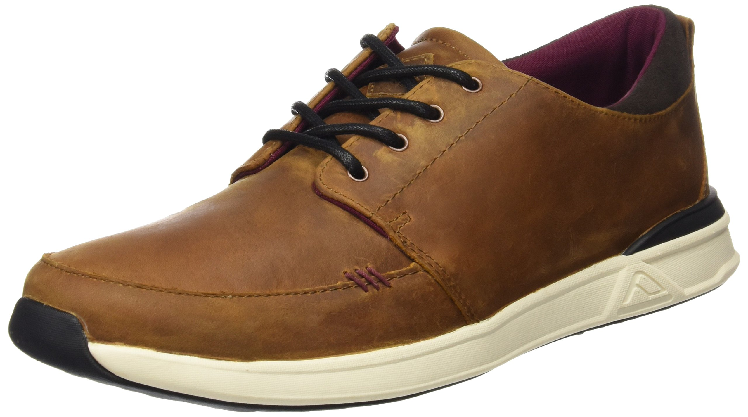 Reef Men's Rover Low FGL Fashion Sneaker, Brown, 11 M US