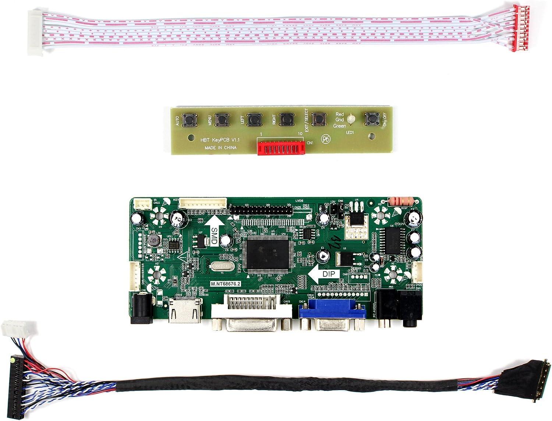 VGA+HDMI+DVI LCD LED screen Controller Driver Board Monitor Kit For M140NWR2 R0