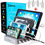 USB Charging station - Fast charging station - USB charging dock - Apple iPad iPhone charging station - Android Tablet Fire Micro USB charging station for multiple devices - Cell phone docking station