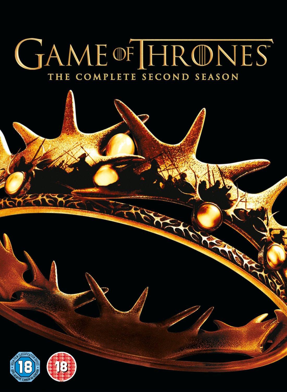 dvd a game of thrones season 2